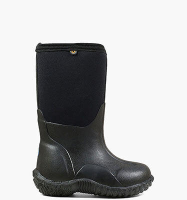 Classic Black Kids' Insulated Boots