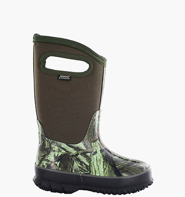 Classic Mossy Oak Youth Size 7 Insulated Boots