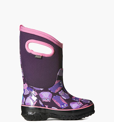 Classic Owl Kids' Insulated Boots