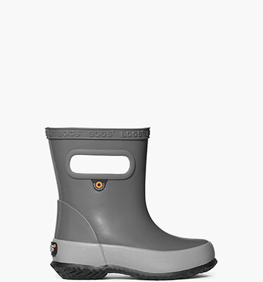 Skipper Solid Kids' Rain Boots