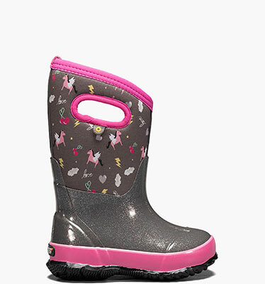 Shop the Kids' Rain boot Pansies.  The featured product is the Kids' Rain boot Pansies in indigo multi and flower print.