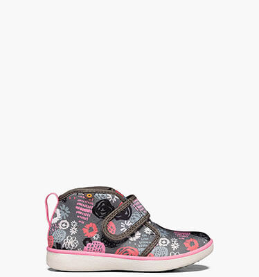 Shop the Kids' Kicker waterproof neoprene rain shoe.  The featured product is the Kids' Kicker in robot graphics, gray multi.